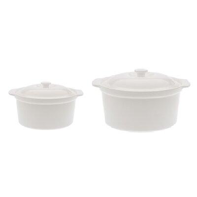Maxwell & Williams Bakeware 2-Piece Round Casserole Set MWB027