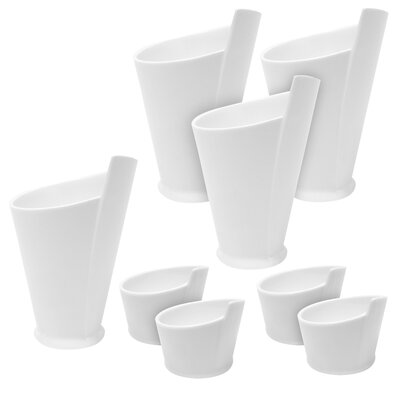 Maxwell & Williams 8 Piece Fry Cup and Sauce Dish Set MWB058