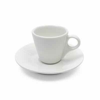 Maxwell & Williams White Basics 4 oz. Demi Cup and Saucer (Set of 6) AA1924