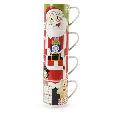 Maxwell & Williams Kris Kringle 14 oz. Santa Mug PB1201