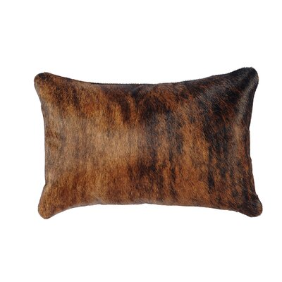 Stampede Leather Lumbar Pillow