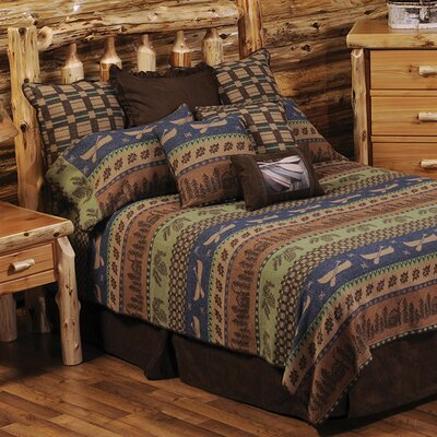 Lake Shore Coverlet Set Size: Queen