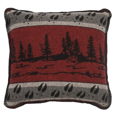 Moose Hollow Throw Pillow