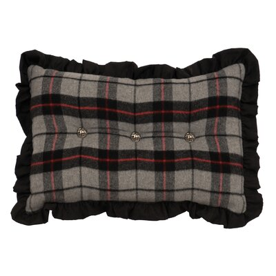 Moose Hollow Suede Lumbar Pillow
