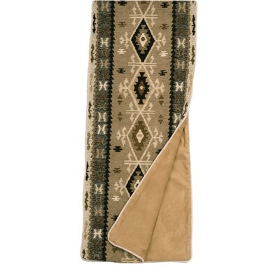 Mountain Storm Bed Scarf Size: Queen WD23292-Q