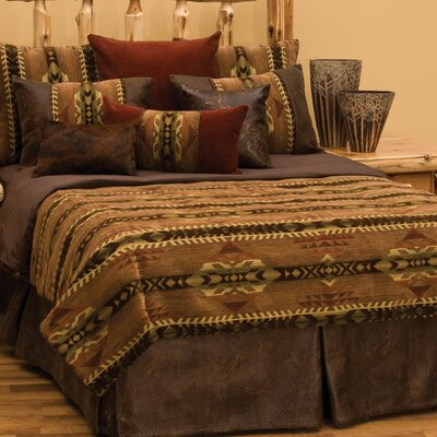Stampede 4 Piece Duvet Set Size: Queen
