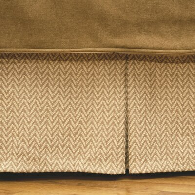 Mountain Storm Bed Skirt Size: California King