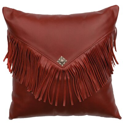 Redrock Canyon Leather Throw Pillow