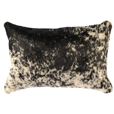 Leather Lumbar Pillow Back Material: Suede