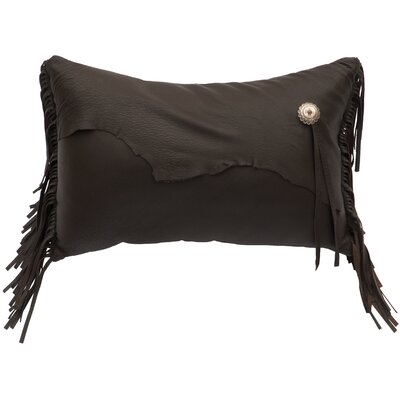 Yellowstone II Leather Lumbar Pillow