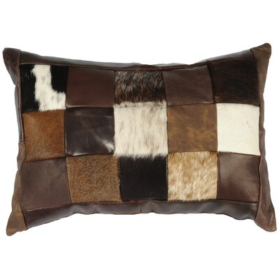Leather Lumbar Pillow