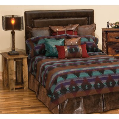 Painted Desert II Bed Skirt Size: Queen