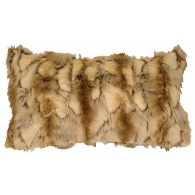 Brandy Fox Faux Fur Lumbar Pillow