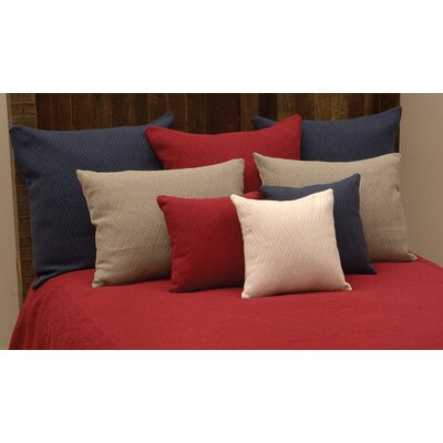Naveen Mix & Match Duvet Cover Color: Brick, Size: Super King