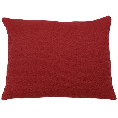 Naveen Mix & Match Sham Color: Brick, Size: Standard