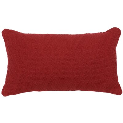 Naveen Mix & Match Lumbar Pillow Color: Brick, Size: 14x26