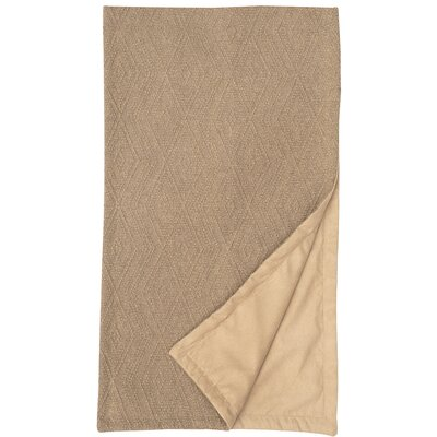 Naveen Mix & Match Bed Scarf Color: Oatmeal, Size: Twin