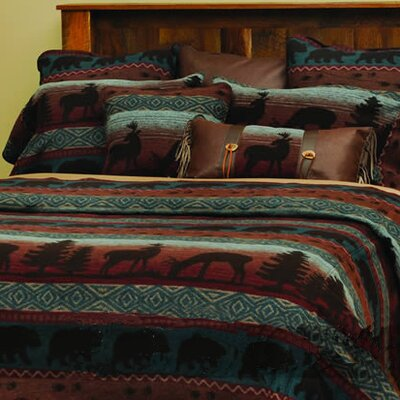 Deer Meadow 4 Piece Coverlet Set Size: King