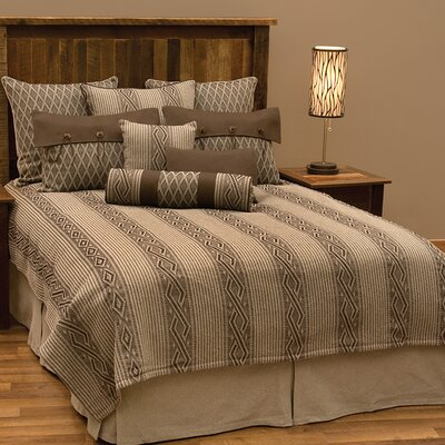 Urban Ranch 9 Piece Deluxe Coverlet Set Size: Super Queen
