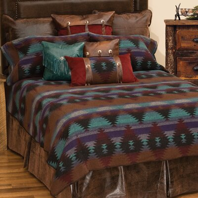 Painted Desert II 7 Piece Coverlet Set Size: Queen
