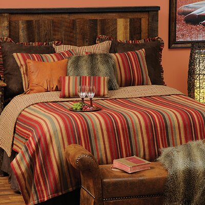 Bandera 4 Piece Reversible Coverlet Set Size: California King