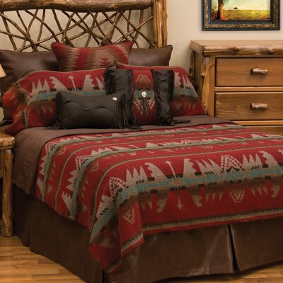 Yellowstone II 7 Piece Coverlet Set Size: King