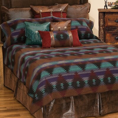 Painted Desert II Coverlet Set Size: Super Queen