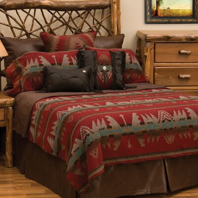 Yellowstone II Coverlet Set Size: Super Queen