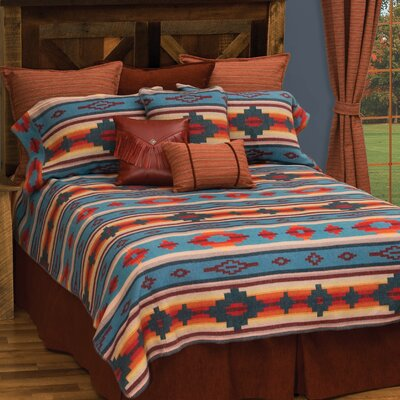 Crystal Creek Coverlet Set Size: Super King