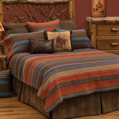 Tombstone II 7 Piece Coverlet Set Size: King