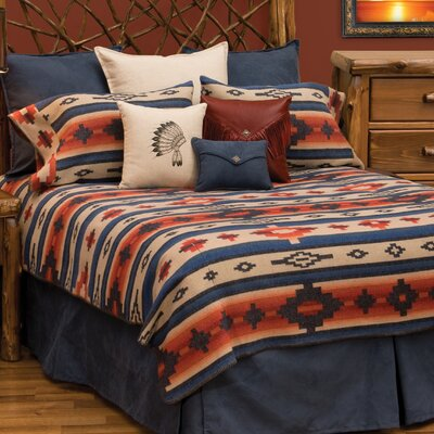 Redrock Canyon Coverlet Set Size: Super Queen