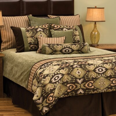 Lemongrass Deluxe 7 Piece Duvet Cover Set Size: Full
