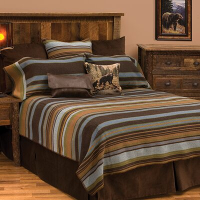 Hudson 7 Piece Coverlet Set Size: King