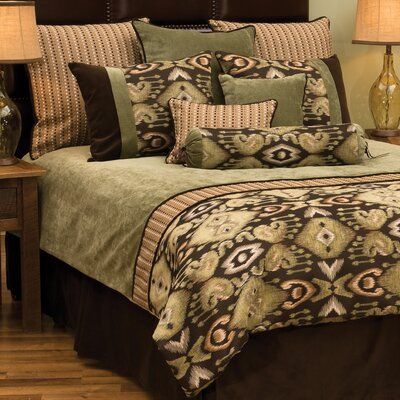 Lemongrass Duvet Cover Size: California King