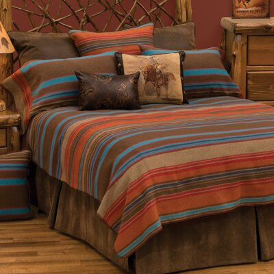 Tombstone II Coverlet Size: California King