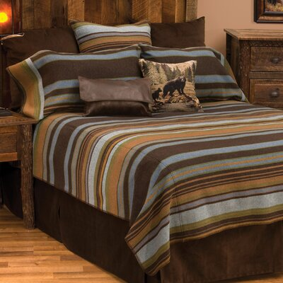 Hudson Coverlet Size: California King