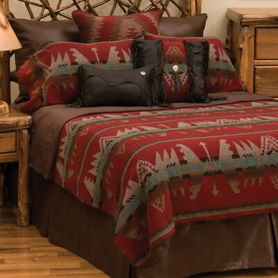 Yellowstone II Coverlet Size: California King
