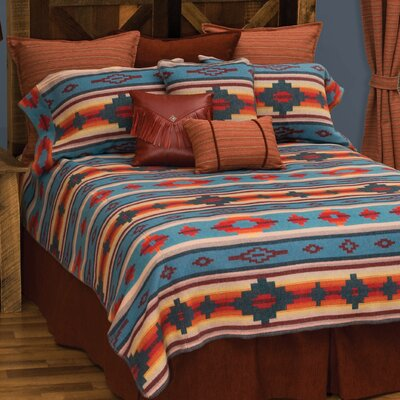 Crystal Creek Coverlet Size: Super King
