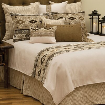 Mountain Storm Coverlet Size: King