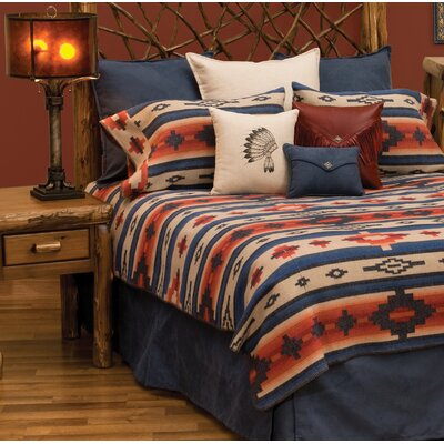 Redrock Canyon Bed Skirt Size: Queen