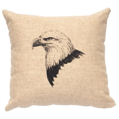 Linen Image Throw Pillow