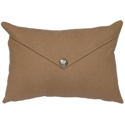 Caravan Lumbar Pillow Color: Taupe