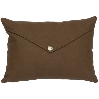 Caravan Lumbar Pillow Color: Brown