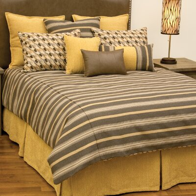 Hayfield 7 Piece Duvet Cover Set Size: Super Queen