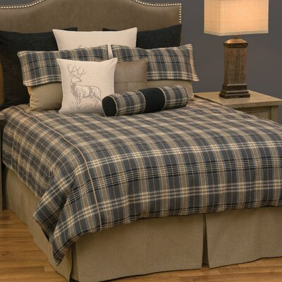 Valiant 7 Piece Duvet Cover Set Size: Super King
