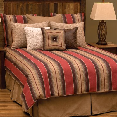Appalachian 7 Piece Duvet Cover Set Size: Super King
