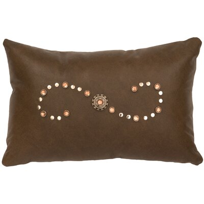 Caribou Leather Lumbar Pillow
