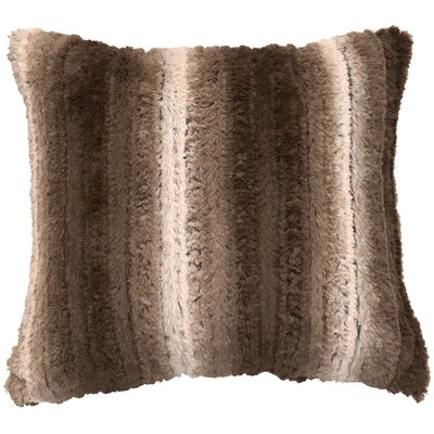 Angora Ash Cuddle Fur Throw Pillow