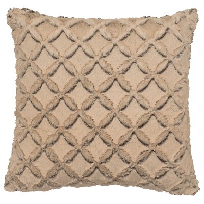 Frosted Gem Cuddle Fur Throw Pillow