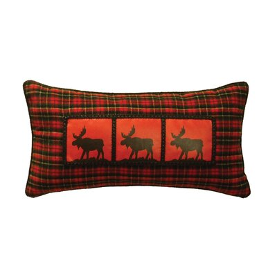 McWoods I Moose Heat Transfer Throw Pillow